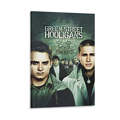 BEEYUYU Green Street Hooligans Moive Poster Football Flim 2005 Canvas Art Poster and Wall Art Picture Print Modern Family Bedroom Decor Posters Frame/unframe 08×12inch(20×30cm)