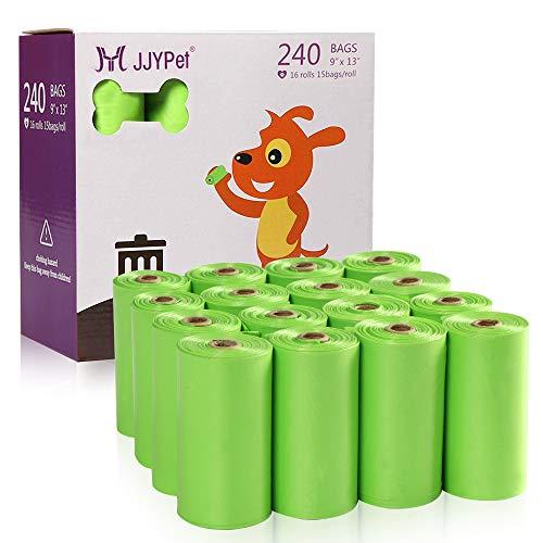 JJYPet ペット ウンチ処理袋 犬 うんち袋 散歩用 生分解性 香り 240枚入り