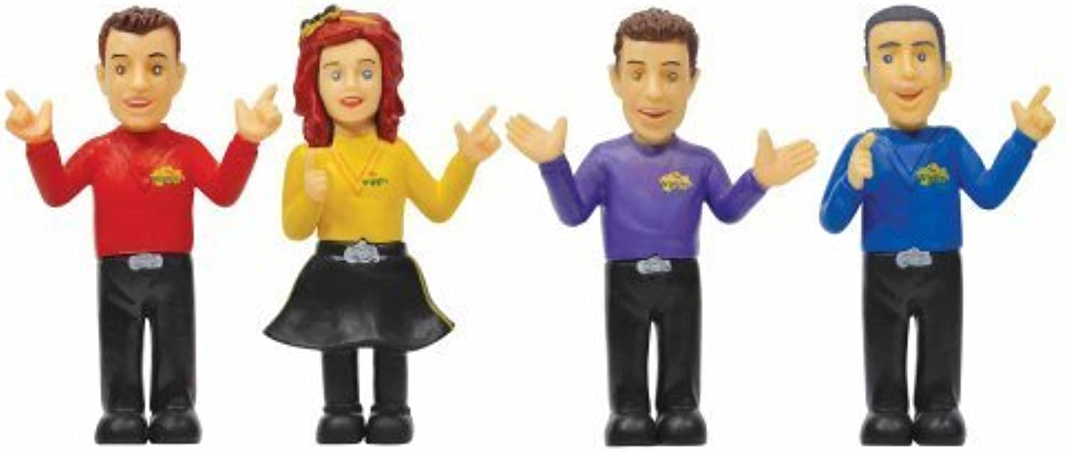 The Wiggles 4-cifra Pack Set by Wicked Cool giocattoli