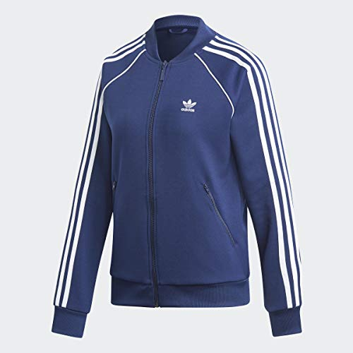 adidas Originals Super Star Trainingsjacke für Damen - Blau - XX-Small