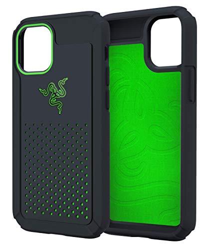 Razer iPhone 12 / 12 Pro 冷却 ケース 高い排熱性 耐衝撃 抗菌 Arctech Pro Black 6.1インチ 【日本正規代理店保証品】 RC21-0145PB18-R3M1