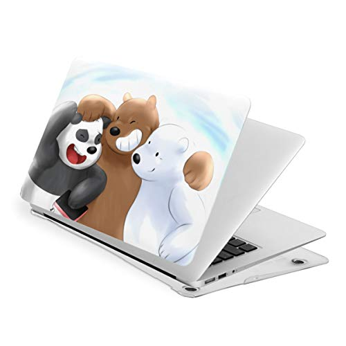 We Cute Bare Be-Ars MacBook Air 13 Inch Case Laptop Sleeve Bag PVC Notebook Computer Case Air13