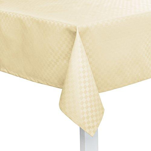 Pichler CASA abwischbare Tischdecke nach Maß Perle (Stoffmuster)