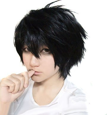 DEATH NOTE L Death Note cosplay wig anime (japan import) by Anime