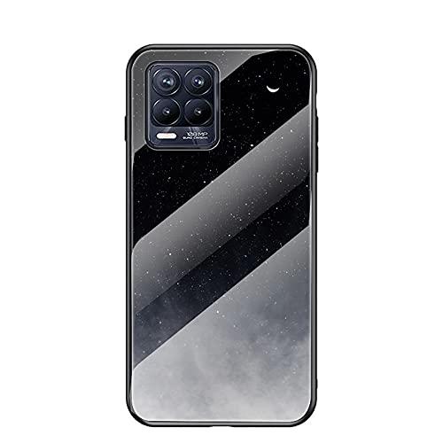 NEINEI Hülle für Oppo Realme 8 Pro/Realme 8,Clear Superdünne Mode Sternenklarer Himmel Muster Design Handyhülle, PC/TPU Silikon Bumper Stoßfeste Kratzfeste Schutzhülle Hülle Cover-5