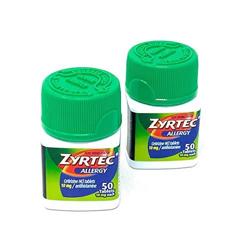 Product of Zyrtec Allergy 10mg Original Prescription Strength Tablets, 100 Ct. - Allergy [Bulk Savings]