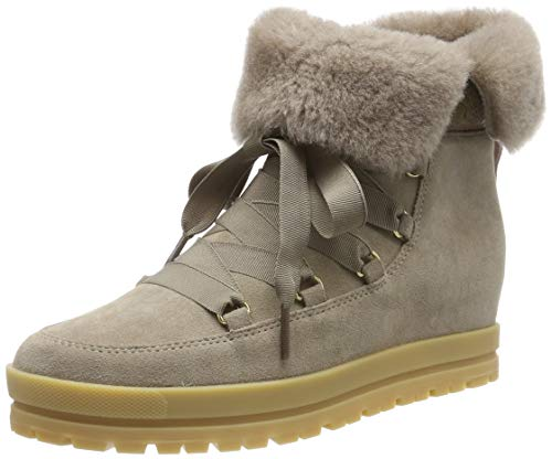 Marc Cain Damen Bootie Desert Boots, Beige (Kangaroo 627), 38 EU
