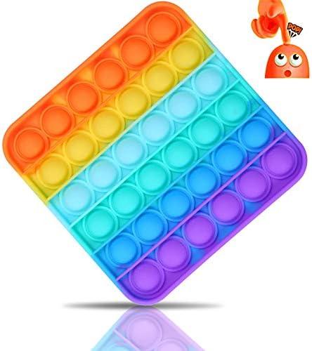 Push Pop Bubble Sensory Fidget Toy Squeeze Toys Poke Pop Toys Autism Special Needs Stress Reliever product image