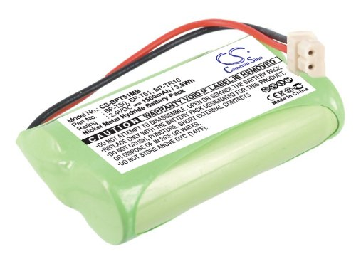 Great Features Of CS Replaceable Battery for Sony BabyPhone Battery NTM-910, NTM-910 Baby Nursery Mo...
