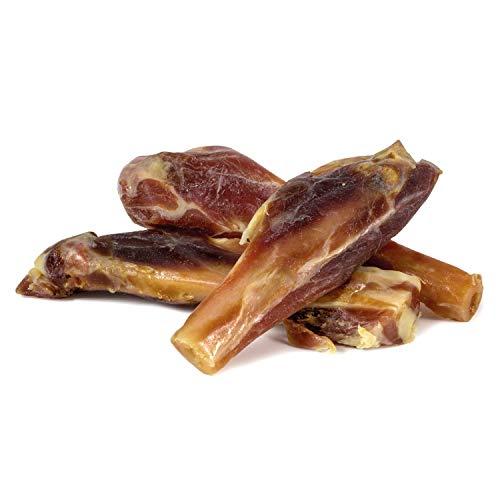 ARQUIVET Huesitos de jamón (3 Unidades) - Snack 100% Natural para Perros - Huesos masticables caninos - Chuches, golosinas, premios, recompensas - Ayuda a una Buena higiene Dental