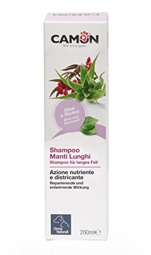 CAMON - Ormes naturelles - Shampooing pour chiens à la main, 200 ml