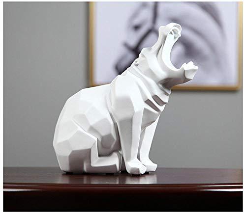 Abstract hippopotamus statue