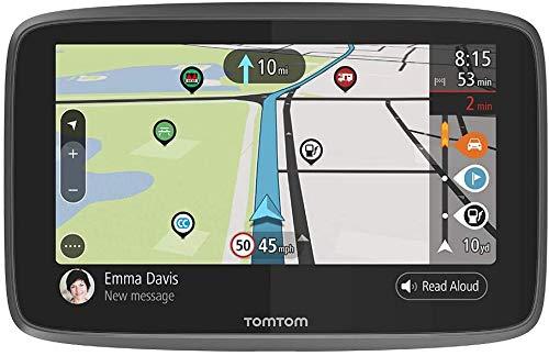TomTom - GPS GO Camper, trafic via smartphone + Wi-Fi, 6 pouces