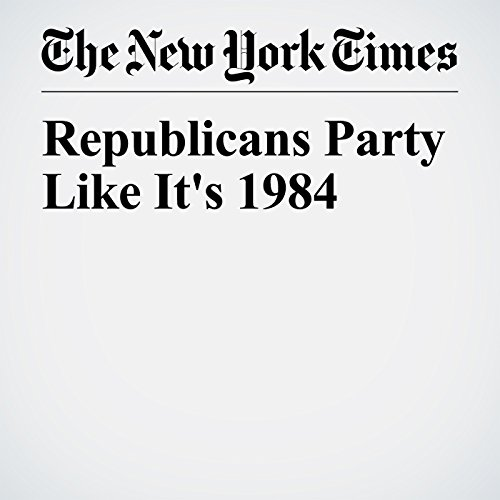 Republicans Party Like It's 1984 copertina