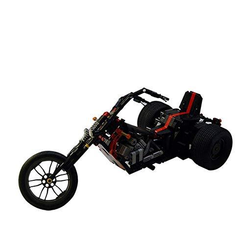 634 PCS Bloque de construcción Tecnología mecánica Triciclo, Puzzle Técnica Técnica Super Racing RC Coche Kit, Modelo Bloques de construcción compatible con, juguetes de ladrillos para adulto o niño