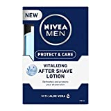 NIVEA MEN Shaving, Protect & Care After Shave Lotion, 100ml