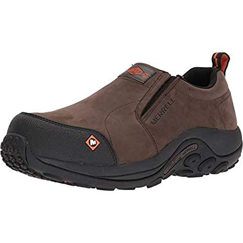 Leather Comp Toe Work Shoes for Men
