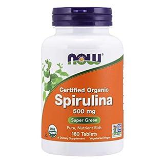 Now Foods Organic Spirulina Tablets, 180 (B0015VI2U8)   Amazon price tracker / tracking, Amazon price history charts, Amazon price watches, Amazon price drop alerts