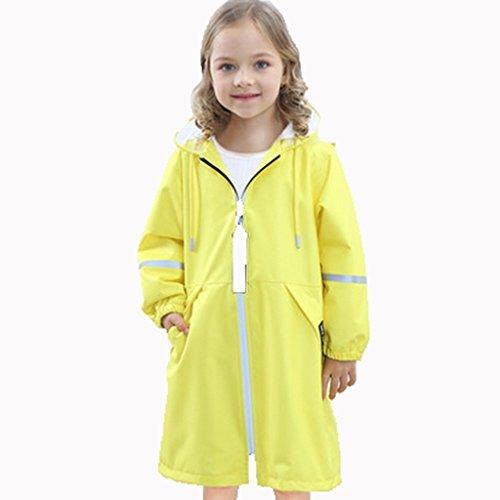 IAIZI - Regenjas Kinderen Regenjas Poncho Mode Trend Regenjas Jongen En Meisje Kleuterschool Baby Regenjas