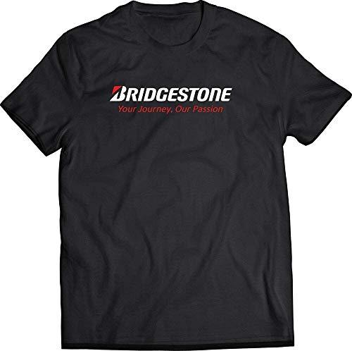 zhengzheng T-Shirt Nera BRIDGESTONE Racing Tire