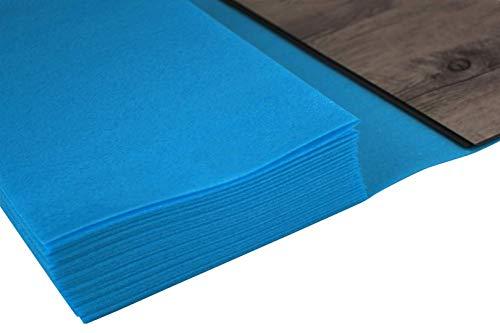 30 qm | Trittschalldämmung | Dampfsperre | Faltprinzip | Hexim | PE Vinyl