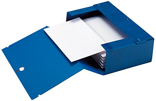 Sei Rota 68002007 Cartelle Porta Documenti e Progetti, Dorso 20 cm, Blu