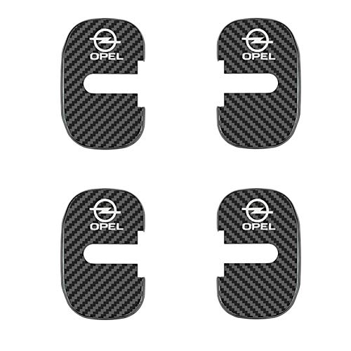 4PCS Car Door Lock Covers Auto Stickers Case Car Accessories Car Styling para Opel Insignia Astra GTC,C