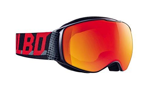 Julbo Echo Jungen Skibrille, Schwarz (Black/Grey/Red), S