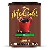 McCafe Medium Roast Ground Coffee, Canister Premium Roast Decaf 1.5 Pound 24.0 Ounce