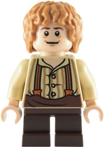LEGO La Hobbit: Bilbo Baggins (Suspenders Shire Tenue) Mini-Figurine