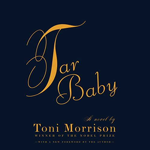 Tar Baby audiobook cover art