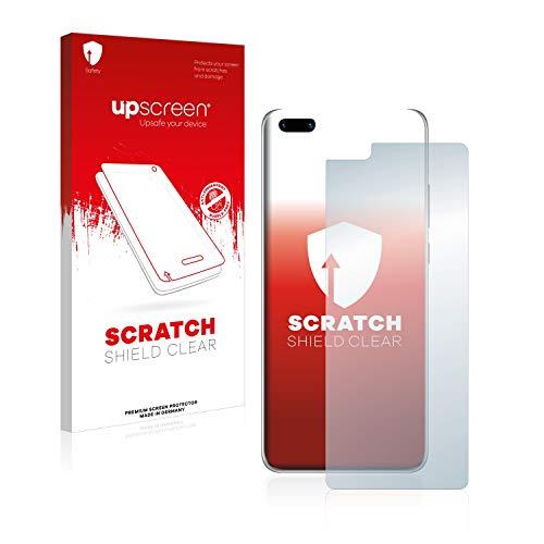 upscreen Schutzfolie kompatibel mit Huawei P40 Pro – Kristallklar, Kratzschutz, Anti-Fingerprint