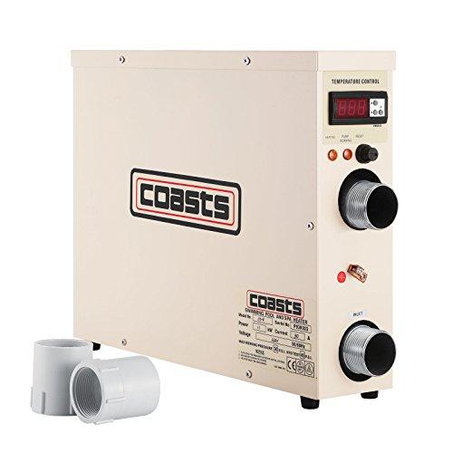 Guellin 11 KW Termostato de Pisina 220 V Calentador para Piscina Calentador de Piscina y SPA Calentador eléctrico de Spa Pool Heater Thermostat