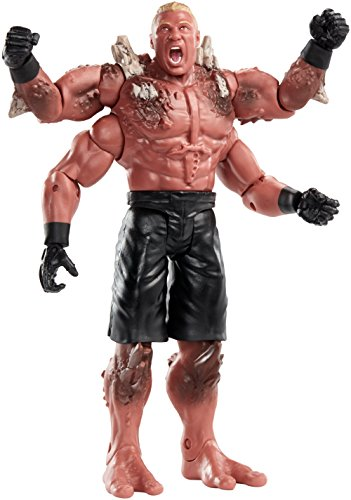WWE Lucha Trade Up Mutantes - Brock Lesnar Figura - DXG63
