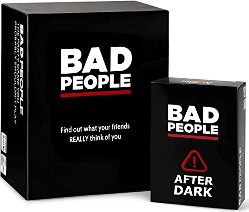 BAD PEOPLE - The Party Game You Probably Shouldn't Play + The After Dark Expansion Pack