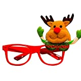 bdrsjdsb Weihnachtsmann Schneemann Elch Brillengestell Weihnachtsfeier Liefert Geschenk Für Kinder Erwachsene * Elch