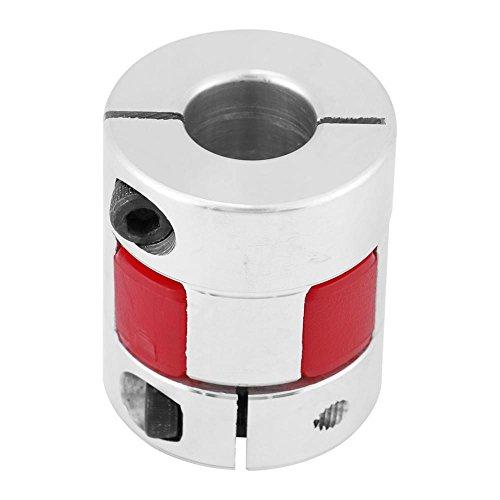 Pflaumenwellenkupplung, Pflaumenwellenkupplung Schrittmotor-Encoderkupplung Verbinden Sie die D25 L30 Aluminiumlegierung(6#)