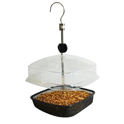Kingfisher Deluxe Mealworm Feeder by Bonnington Plastics Ltd