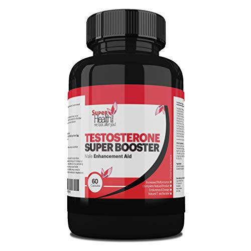 Testosterone Booster for Men *** Natural Testosterone Supplement for Men and Women to Increase Muscle Strength & Power | Reduction in Fatigue | Super Male Power