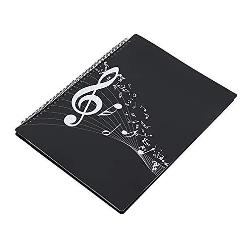Dcolor Carpeta de Almacenamiento de Documentos de Partituras de MúSica Adecuada para Piano Carpeta de Partituras Archivo de óRgano de Banda de Viento o MáS Ocasiones