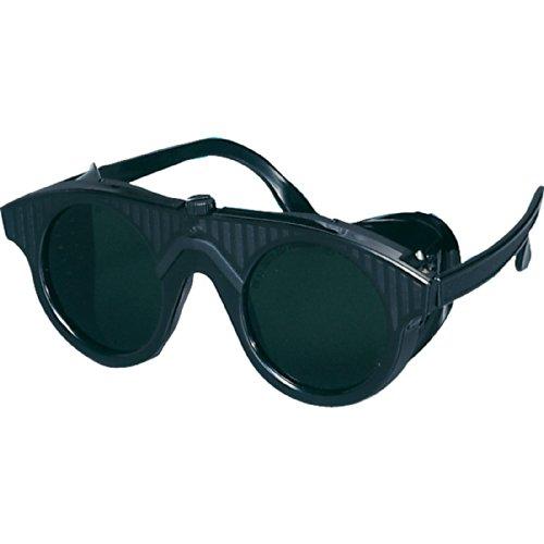 SCHWEISSER-KING Schweißerbrille Schutzbrille runde Gläser verschiedene DIN, Schutzstufe:DIN 5