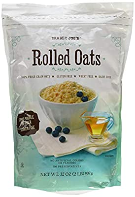 Trader Joes Gluten Free and Wheat Free Rolled Oats