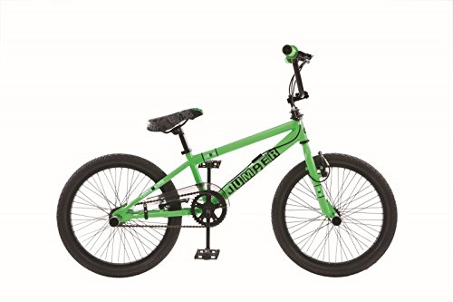 20 Zoll BMX Kinder Fahrrad Rad KINDERFAHRRAD JUGENDFAHRRAD Freestyle 4 Pegs Jumper GRÜN