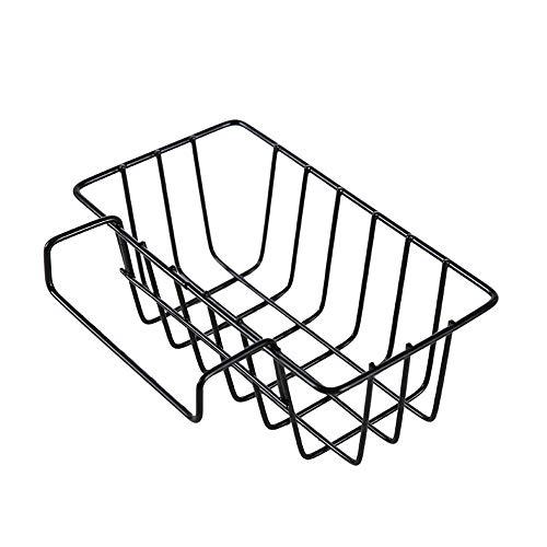 NeoMcc - Kabinett Shelf Organisation Einfache Tropfbehälter Hängekorb Waschbecken, Krawatte Yi Ke Bin Hängekorb Küche Sauber Filterbecken Reinigungsprodukte Regale (Farbe : Schwarz)