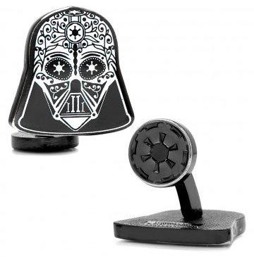 MasGemelos Manschettenknöpfe Totenkopf Darth Vader Star Wars