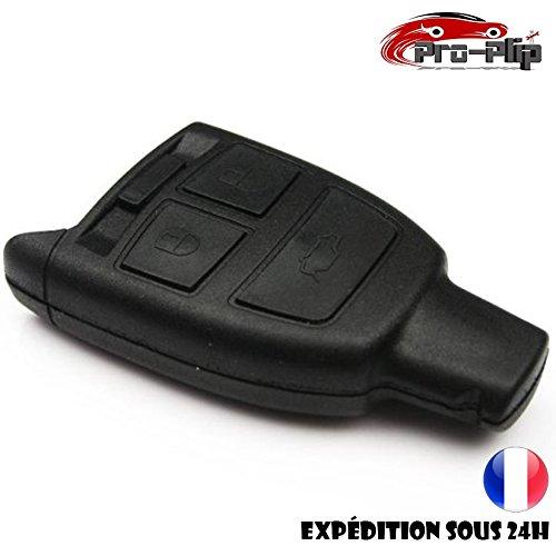Pro-Plip Cover per chiave PLIP per Fiat Scudo Ulysse Tempra Croma, 3Pulsanti, Contenitore per Telecomando
