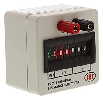 RS-201 - Decade Box Resistance 7 0 ohm to 9.999999Mohm 0.1% RS Series  RS-201