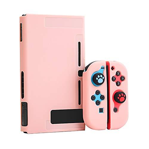 Xpccj Funda protectora para Nintendo Switch, funda para consola Nintendo Switch, color rosa