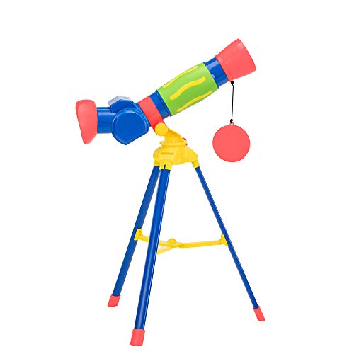 Educational Insights GeoSafari Jr. My First Telescope, STEM Toy for Kids, Telescope for Kids, Ages 4+, Brand New Look
