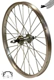 Redondo 20 Zoll Hinterrad Laufrad Kasten Felge Silber für 5-7-fach Kränze